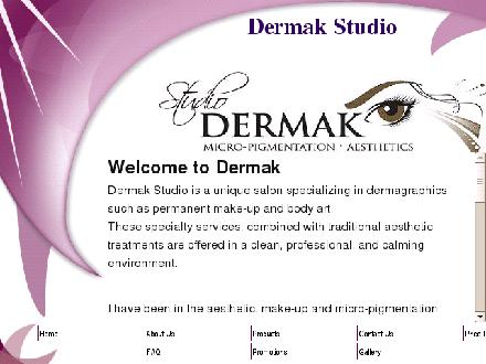 Dermak Clinical Aesthetics (506-855-0066) - Onglet de site Web - http://www.dermakstudio.com