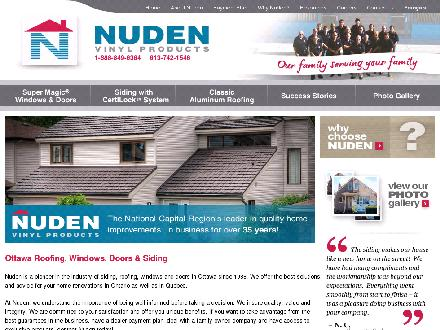 Nuden Vinyl Products (613-742-1546) - Website thumbnail - http://www.nuden.com