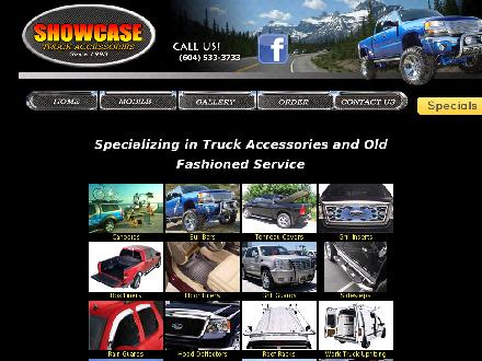Showcase Truck Accessories (604-533-3733) - Onglet de site Web - http://www.showcasetruckaccessories.com