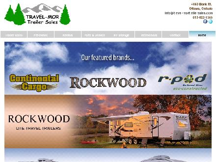 Travel-Mor Trailer Sales (613-822-1666) - Website thumbnail - http://www.travel-mortrailersales.com