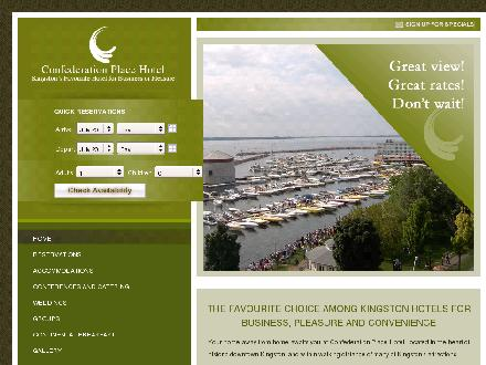 Confederation Place Hotel (613-777-1269) - Website thumbnail - http://www.confederationplace.com