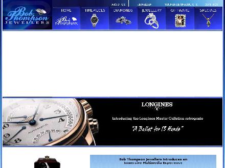 Bob Thompson Jewellers (613-233-4758) - Website thumbnail - http://www.bobthompsonjewellers.com