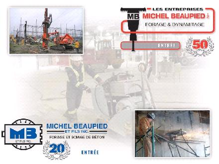 Beaupied Michel & Fils Inc (450-834-3482) - Website thumbnail - http://www.mbeaupied.com