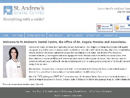 St Andrew's Dental Centre (905-727-4243) - Website thumbnail - http://www.standrewsdental.ca