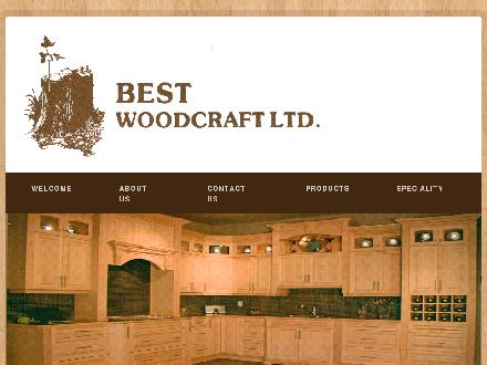 Best Woodcraft Ltd (780-613-0145) - Website thumbnail - http://www.bestwoodcraft.com