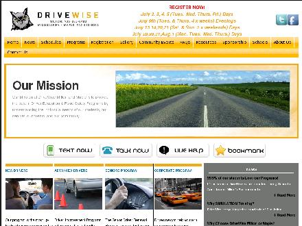 Drivewise Milton (905-875-0480) - Onglet de site Web - http://www.drivewisemilton.com