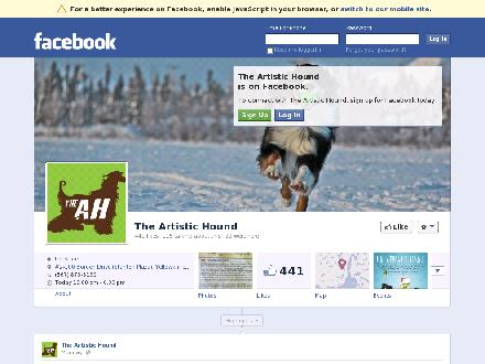 Artistic Hound The (867-873-5190) - Onglet de site Web - http://www.facebook.com/theartistichound