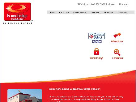 Econo Lodge Inn &amp; Suites (506-800-1983) - Onglet de site Web - http://www.econolodgemoncton.com