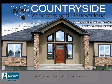 Countryside Windows &amp; Renovations (403-815-6510) - Onglet de site Web - http://www.countrysidewindowsandrenos.ca