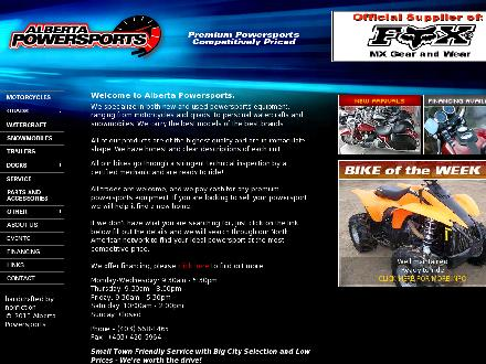 Alberta Powersports (403-668-1465) - Website thumbnail - http://www.albertapowersports.com