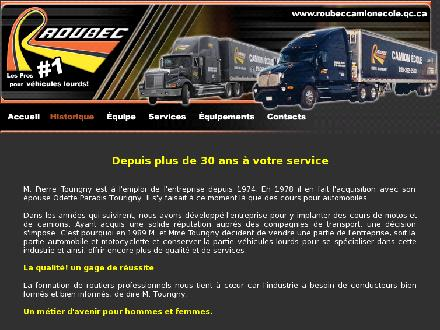 Roubec Camions Ecole Pierre Tourigny (1989) Inc (819-362-2523) - Onglet de site Web - http://www.roubeccamionecole.qc.ca