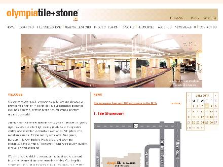 Olympia Tile International Inc (416-785-6666) - Website thumbnail - http://www.olympiatile.com