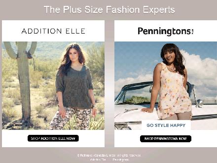 Penningtons - Website thumbnail - http://www.1-plus.com