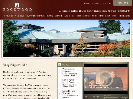 Edgewood Treatment Centre (1-800-683-0111) - Onglet de site Web - http://www.edgewood.ca