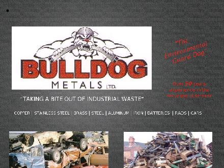 Bulldog Scrap Metal Ltd (403-347-5815) - Onglet de site Web - http://www.bulldogmetals.net