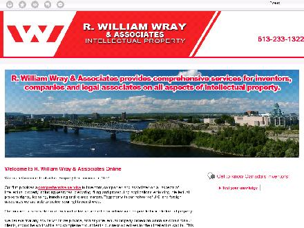 Wray R William & Associates (613-233-1322) - Onglet de site Web - http://wray-canada.ca/