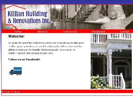 Killian Building & Renovations Inc (705-932-3577) - Website thumbnail - http://www.killianbuilding.com