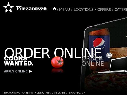 Pizzatown One Number For All Locations (902-702-2100) - Website thumbnail - http://www.pizzatown.ca