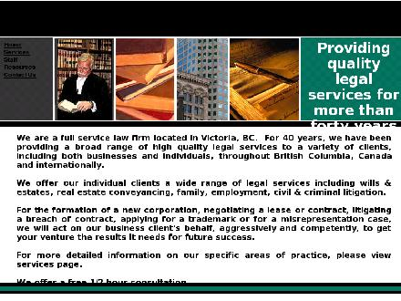 Smith Hutchison (250-388-6666) - Onglet de site Web - http://www.bclawfirm.com