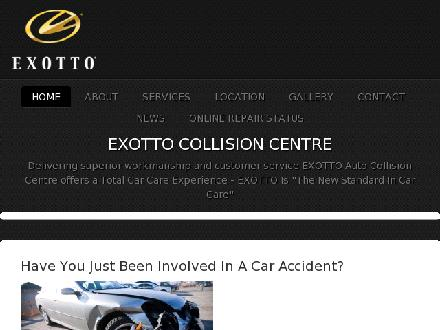 Exotto Collision Centre (416-247-5055) - Website thumbnail - http://www.exotto.ca
