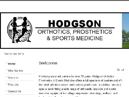 Hodgson Orthotics and Forward Motion Prosthetics (604-520-7332) - Onglet de site Web - http://www.hodgsonorthotics.com