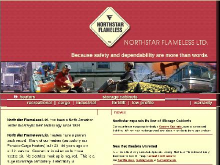 Northstar Flameless Ltd. (403-236-9627) - Onglet de site Web - http://www.northstarflameless.com