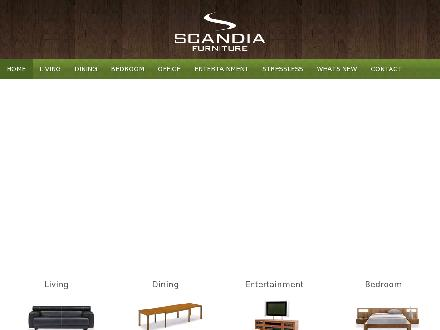 Scandia Furniture (780-483-4949) - Website thumbnail - http://www.scandiafurniture.com