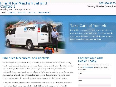 Fire N Ice Mechanical & Controls Ltd (780-940-4849) - Website thumbnail - http://www.firenicemechanical.info