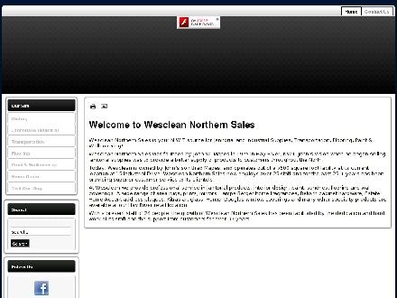 Wesclean Northern Sales Ltd (867-875-5100) - Website thumbnail - http://www.wescleannwt.com