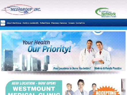 Kensington Medical Clinic (780-990-1820) - Onglet de site Web - http://www.medigroup.ca