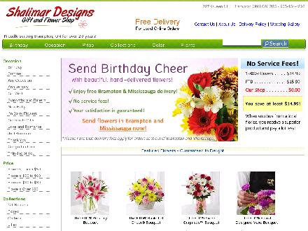 Shalimar Designs (289-401-0013) - Website thumbnail - http://www.shalimardesigns.com