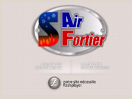 Air Fortier (450-447-2003) - Website thumbnail - http://www.airfortier.qc.ca
