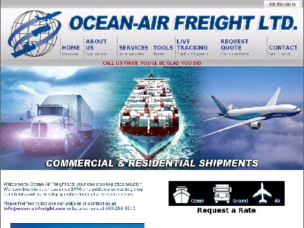 Ocean-Air Freight Ltd (403-250-3510) - Onglet de site Web - http://www.ocean-airfreight.com