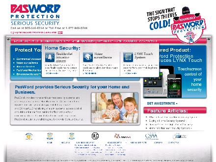Pasword Protection Services Inc (905-645-1171) - Website thumbnail - http://www.pasword.com