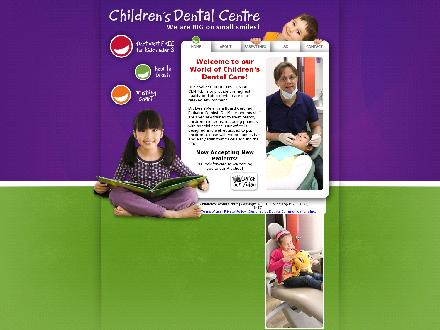 Children's Dental Centre (204-668-5437) - Onglet de site Web - http://www.mykidsdentist.ca