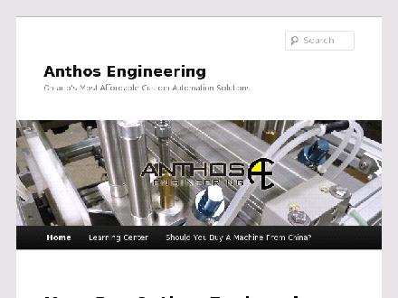 Anthos Engineering (905-672-6370) - Website thumbnail - http://www.anthosengineering.com