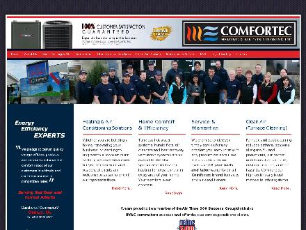 Comfortec Heating & Air Conditioning Ltd (403-309-8301) - Website thumbnail - http://www.comfortecheating.com