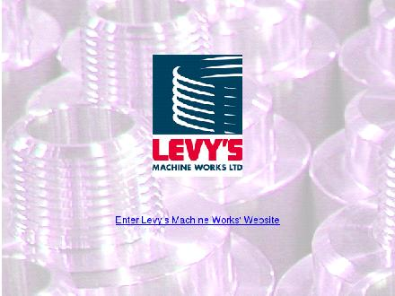 Levy's Machine Works Ltd (403-279-2010) - Website thumbnail - http://www.levysmachineworks.com