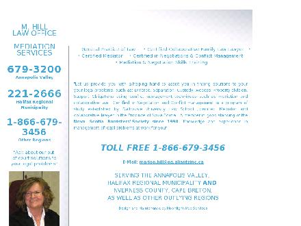 Hill (Millett) Marion Law Office & Mediation Services (902-679-3200) - Website thumbnail - http://www.marionhill.ca