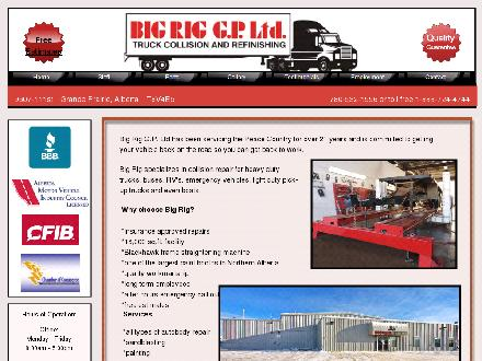 Big Rig (G P) Ltd (780-357-3923) - Website thumbnail - http://www.bigriggp.com