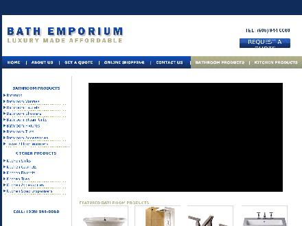 Bath &amp; Kitchen Emporium (905-944-0060) - Website thumbnail - http://www.bathemp.ca