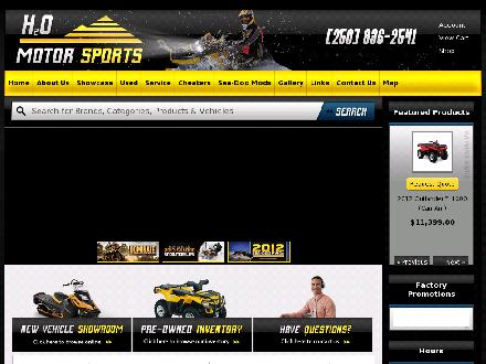 H20 Motor Sports (250-836-2541) - Website thumbnail - http://www.h2omotor.com
