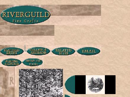 River Guild Fine Crafts (613-267-5237) - Website thumbnail - http://riverguild.com/