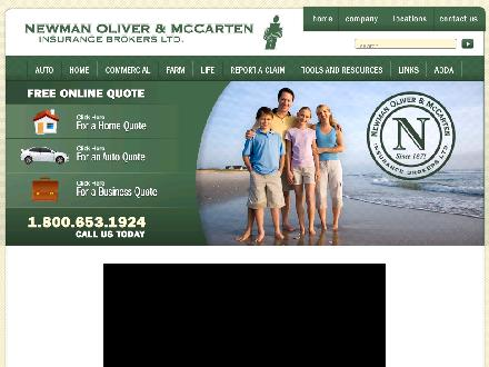 Newman Oliver & McCarten Insurance Brokers Ltd (705-653-1940) - Onglet de site Web - http://www.newmaninsurance.ca
