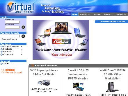 Virtual Micro Technology (519-679-2922) - Onglet de site Web - http://www.virtualmicro.com