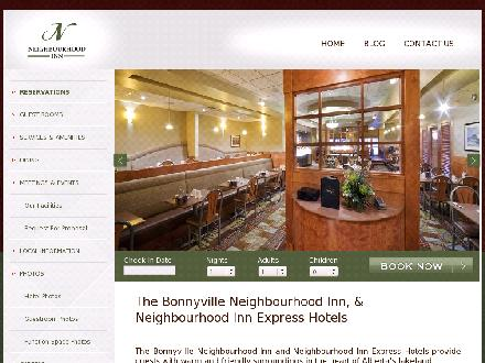 Bonnyville Neighbourhood Inn (780-826-3300) - Onglet de site Web - http://www.neighbourhoodinn.com
