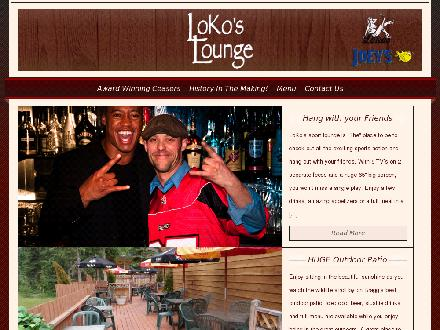 LoKo's Lounge (403-949-3336) - Onglet de site Web - http://www.lokoslounge.com