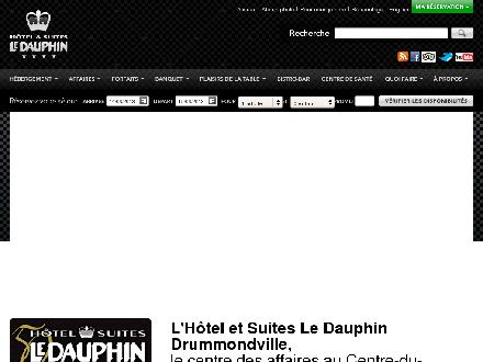 Hotel Et Suites Le Dauphin (819-478-4141) - Onglet de site Web - http://www.le-dauphin.com