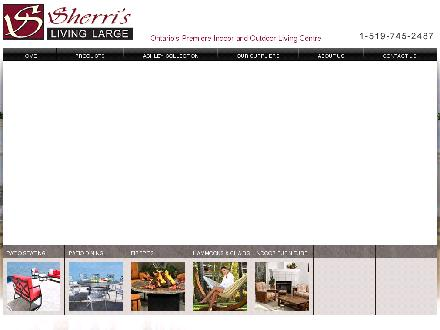Sherri's Living Large (519-745-2487) - Website thumbnail - http://www.sherris.ca