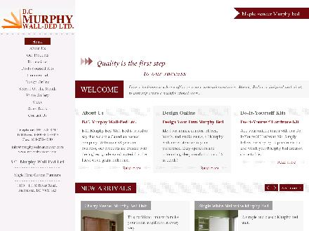 Murphy Wall-Beds (604-278-8247) - Website thumbnail - http://www.murphybedsvancouver.com